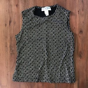 Urban Outfitters Tops - Vintage Ronni Nicole Glitter Tank Top Petite Small